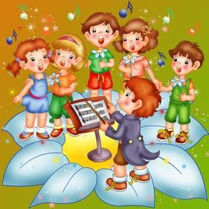 Оркестр в детском саду в картинках